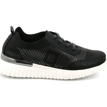 Cipők Női Rövid szárú edzőcipők Grunland SC4905 Fekete
