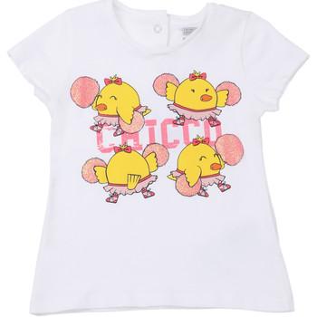 Ruhák Gyerek Rövid ujjú pólók Chicco 09006955000000 Fehér