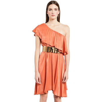 Ruhák Női Rövid ruhák Denny Rose 011ND15020 Narancssárga
