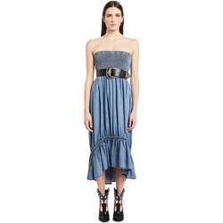 Ruhák Női Hosszú ruhák Denny Rose 011ND16002 Kék