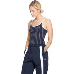 Ruhák Női Trikók / Ujjatlan pólók Fila WOMEN SAGA 170 Blu