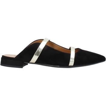 Cipők Női Gyékény talpú cipők Grace Shoes 521T041 Fekete