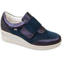 Cipők Női Belebújós cipők Valleverde V20370 Kék
