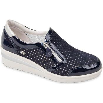 Cipők Női Belebújós cipők Valleverde 18152 Kék