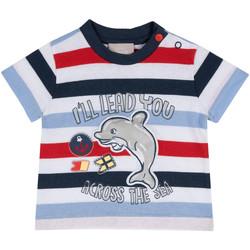 Ruhák Gyerek Rövid ujjú pólók Chicco 09006876000000 Kék