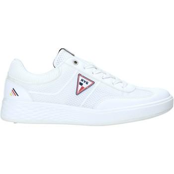 Cipők Férfi Rövid szárú edzőcipők Navigare NAM018030 Fehér