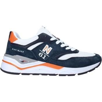 Cipők Férfi Rövid szárú edzőcipők Navigare NAM015260 Kék