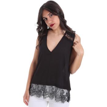 Ruhák Női Blúzok Gaudi 011FD45055 Fekete