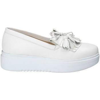 Cipők Női Belebújós cipők Exton E01 Fehér