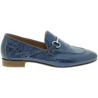 Cipők Női Mokkaszínek Mally 6105 Kék