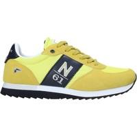 Cipők Férfi Rövid szárú edzőcipők Navigare NAM013550 Sárga