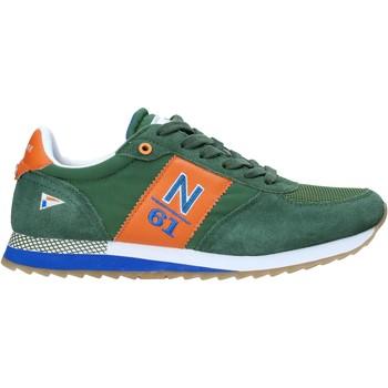 Cipők Férfi Rövid szárú edzőcipők Navigare NAM013550 Zöld