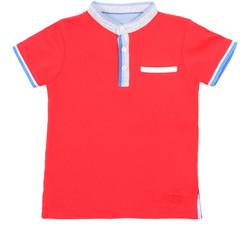 Ruhák Gyerek Rövid ujjú galléros pólók Losan 015-1791AL Piros