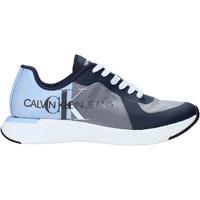 Cipők Férfi Rövid szárú edzőcipők Calvin Klein Jeans B4S0649 Kék