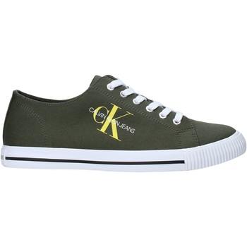 Cipők Férfi Rövid szárú edzőcipők Calvin Klein Jeans B4S0670 Zöld