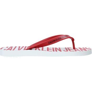 Cipők Férfi Lábujjközös papucsok Calvin Klein Jeans B4S0676 Piros