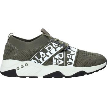 Cipők Férfi Rövid szárú edzőcipők Napapijri NA4ESB Zöld
