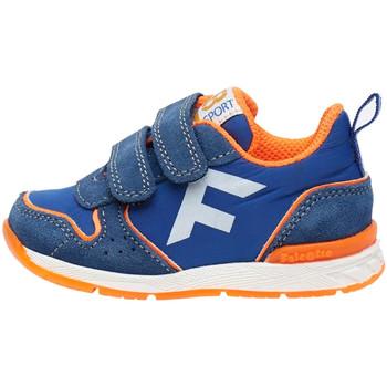 Cipők Gyerek Rövid szárú edzőcipők Falcotto 2014924 01 Kék