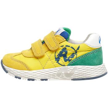 Cipők Gyerek Rövid szárú edzőcipők Naturino 2014904 01 Sárga