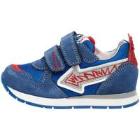 Cipők Gyerek Rövid szárú edzőcipők Naturino 2014913 01 Kék