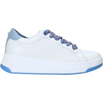Cipők Női Rövid szárú edzőcipők Apepazza S0BASKET04/FLW Fehér