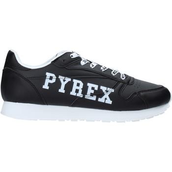 Cipők Férfi Rövid szárú edzőcipők Pyrex PY020208 Fekete