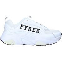 Cipők Női Rövid szárú edzőcipők Pyrex PY020233 Fehér