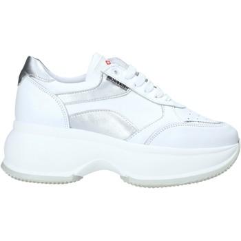 Cipők Női Rövid szárú edzőcipők Exton 1575 Fehér