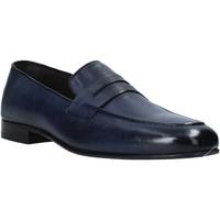 Cipők Férfi Mokkaszínek Exton 1020 Kék