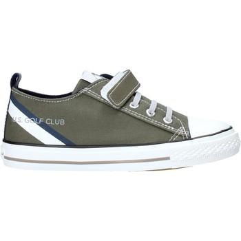 Cipők Gyerek Rövid szárú edzőcipők U.s. Golf S20-SUK608 Zöld
