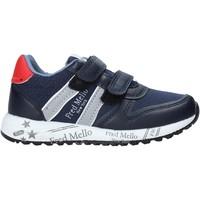 Cipők Fiú Rövid szárú edzőcipők Fred Mello S20-SFK318 Kék