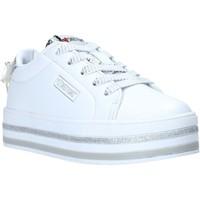 Cipők Gyerek Rövid szárú edzőcipők Sweet Years S20-SSK415 Fehér