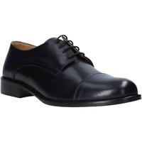 Cipők Férfi Oxford cipők Exton 6013 Fekete