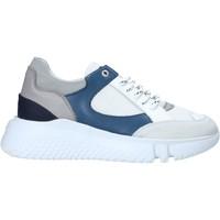 Cipők Férfi Rövid szárú edzőcipők Exton 794 Fehér