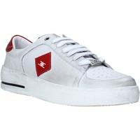 Cipők Férfi Rövid szárú edzőcipők Exton 178 Fehér