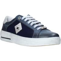 Cipők Férfi Rövid szárú edzőcipők Exton 177 Kék
