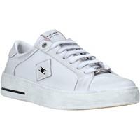 Cipők Férfi Rövid szárú edzőcipők Exton 177 Fehér