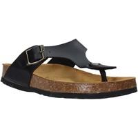 Cipők Gyerek Lábujjközös papucsok Bamboo BAM-222 Fekete