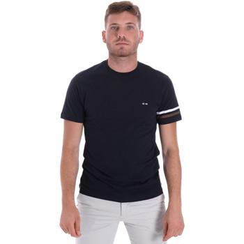 Ruhák Férfi Rövid ujjú pólók Les Copains 9U9014 Kék
