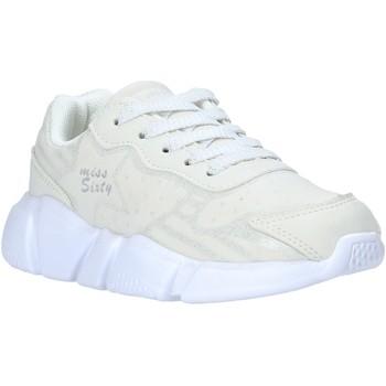 Cipők Gyerek Rövid szárú edzőcipők Miss Sixty S20-SMS737 Fehér