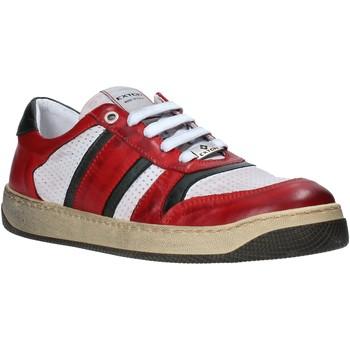 Cipők Férfi Rövid szárú edzőcipők Exton 310 Piros
