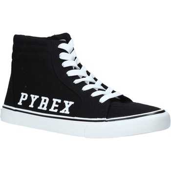 Cipők Férfi Magas szárú edzőcipők Pyrex PY020203 Fekete