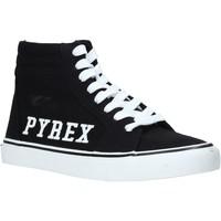 Cipők Női Magas szárú edzőcipők Pyrex PY020226 Fekete