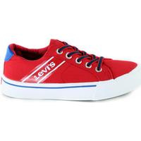 Cipők Gyerek Rövid szárú edzőcipők Levi's VKIN0001T Piros