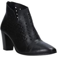 Cipők Női Bokacsizmák Mally 6878 Fekete