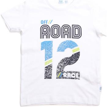 Ruhák Gyerek Rövid ujjú pólók Melby 70E5544 Fehér