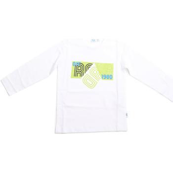 Ruhák Gyerek Hosszú ujjú pólók Melby 70C5524 Fehér
