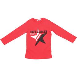 Ruhák Gyerek Hosszú ujjú pólók Melby 70C5615 Piros