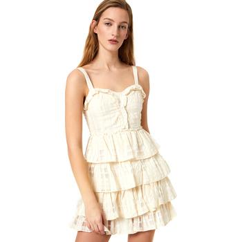 Ruhák Női Rövid ruhák Liu Jo FA0312 T4190 Fehér