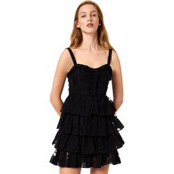 Ruhák Női Rövid ruhák Liu Jo FA0312 T4190 Fekete